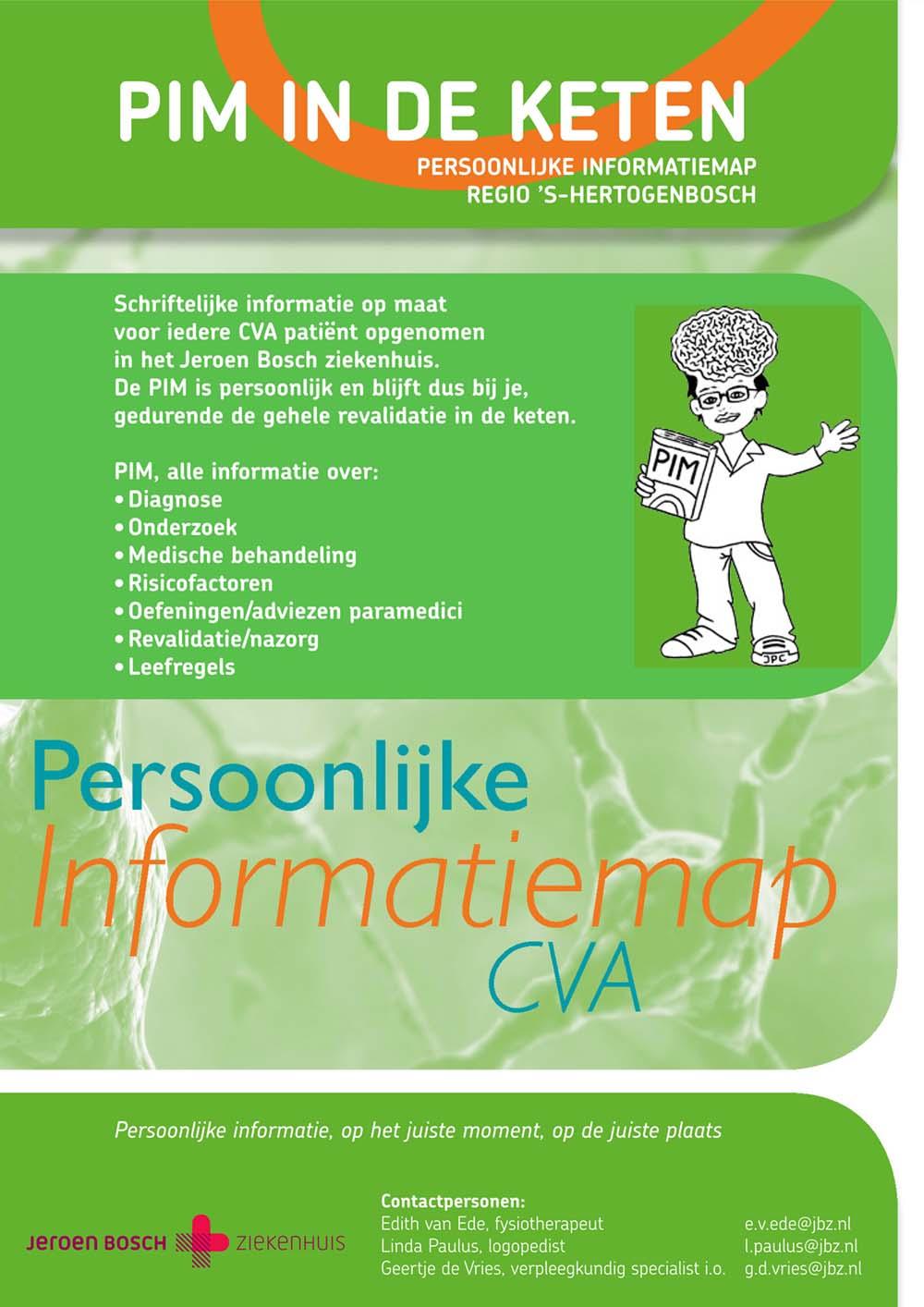 Persoonlijke Informatiemap CVA